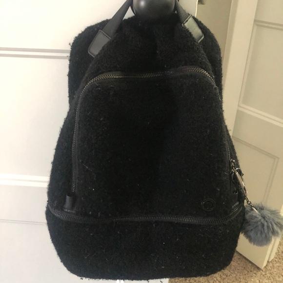 Lululemon teddy backpack mini